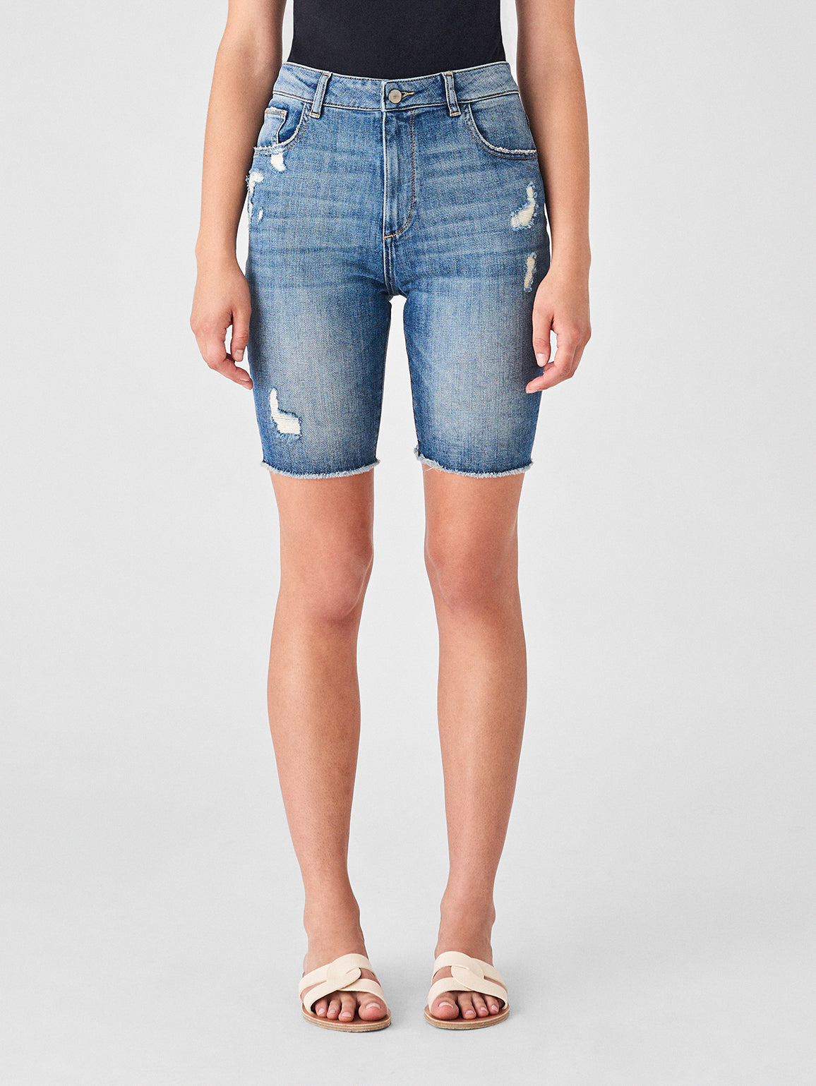 Jerry High Rise Bermuda Short | Hooper