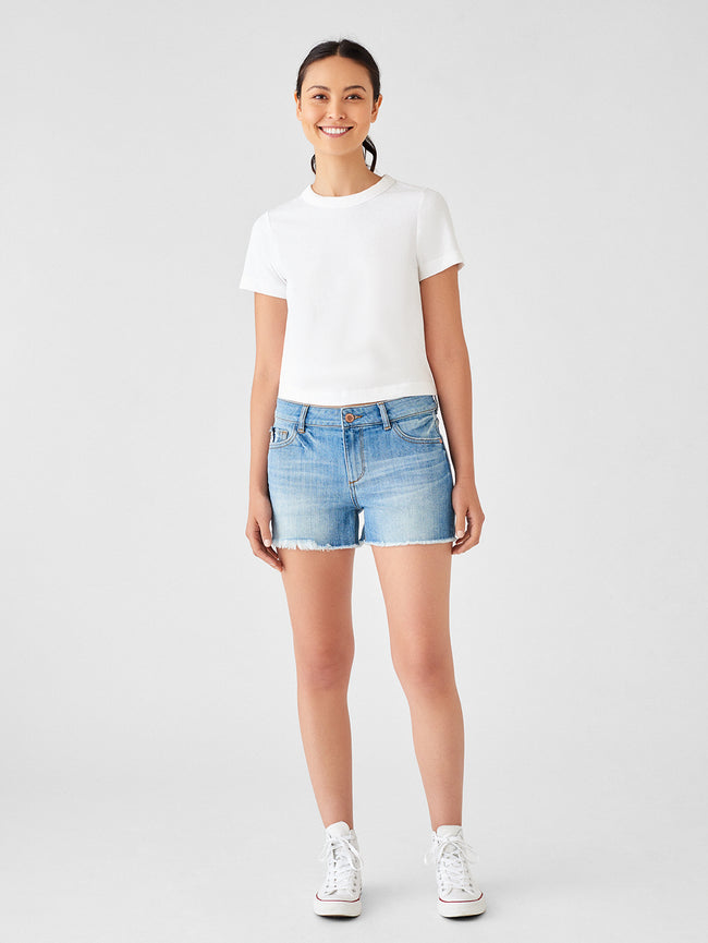 Karlie Low Rise Boyfriend Short | Red Rock
