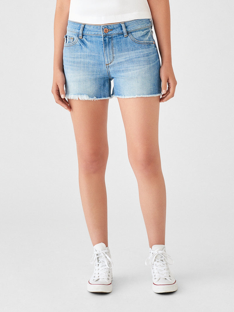 Jerry High Rise Bermuda Short | Cottonwood
