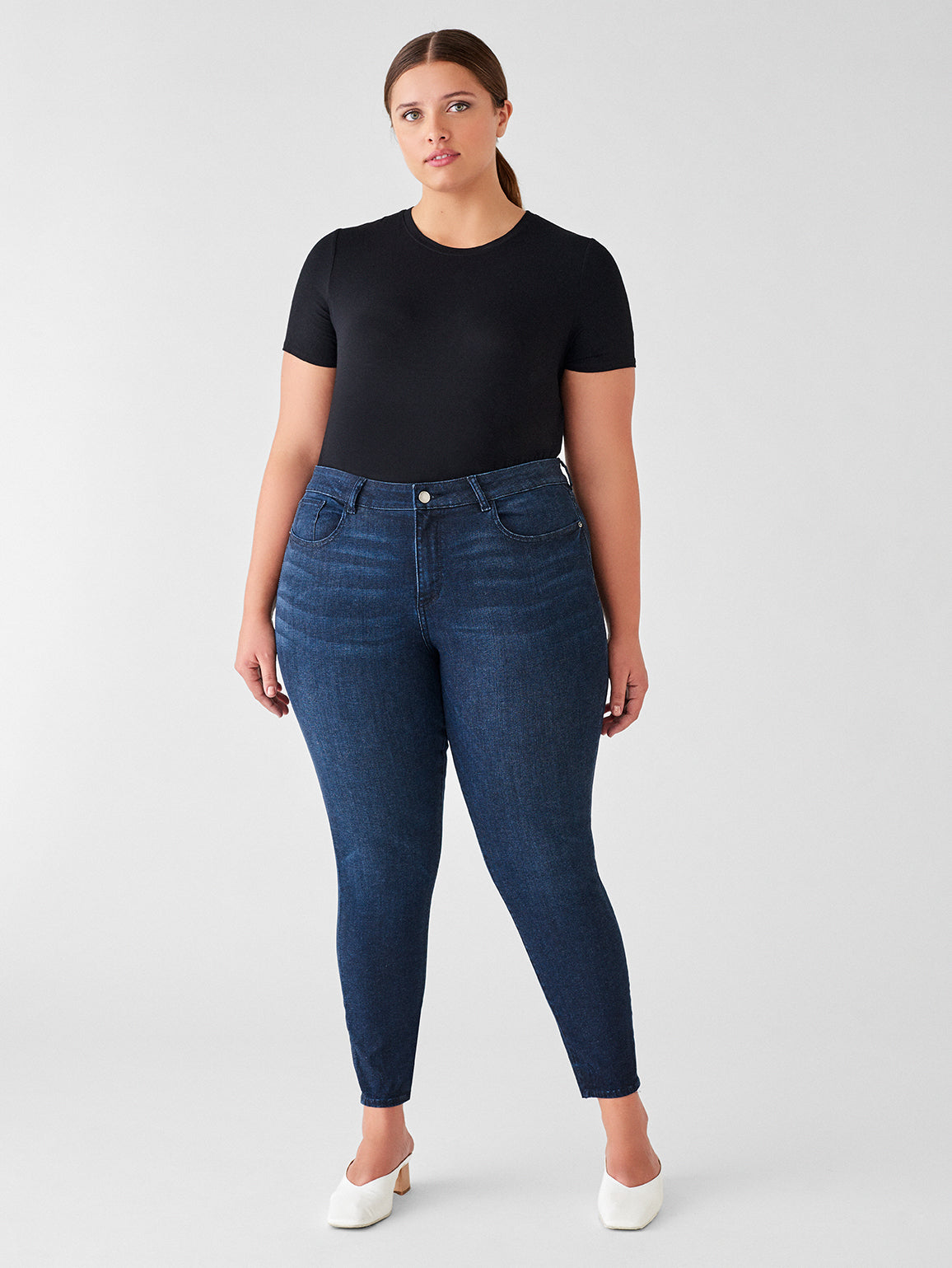 Florence Ankle Mid Rise Skinny Inclusive | Redmond