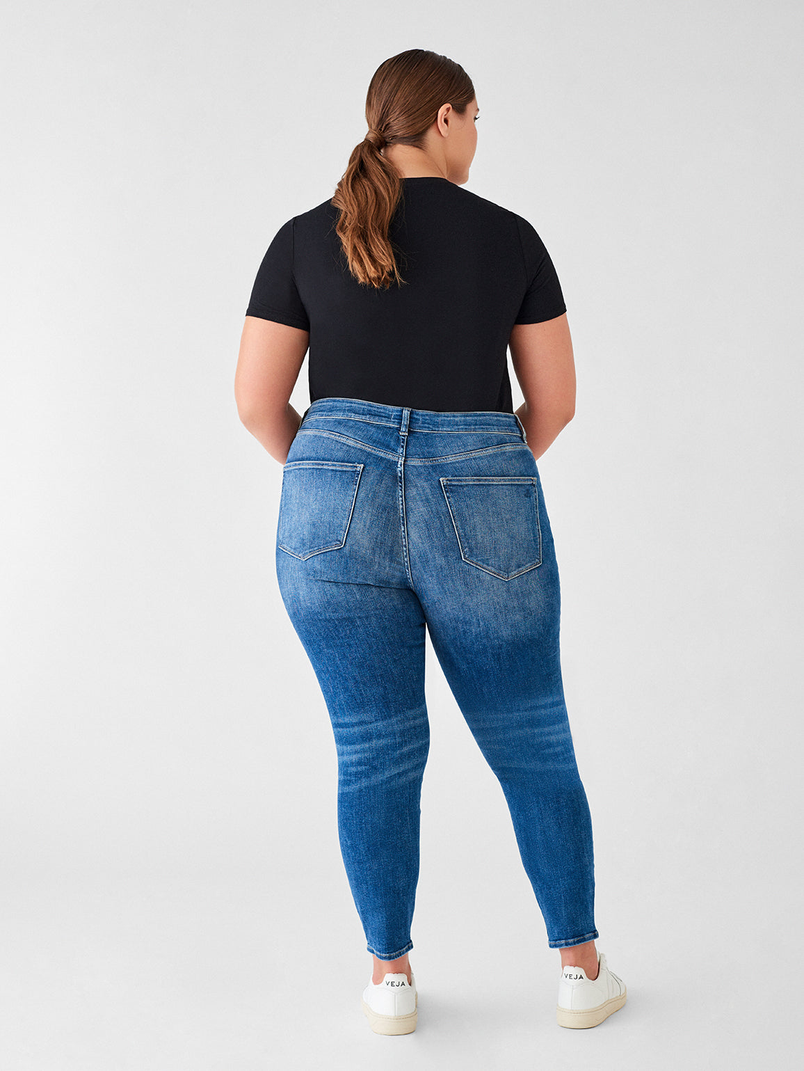 Florence Crop Mid Rise Skinny Inclusive | Everglade
