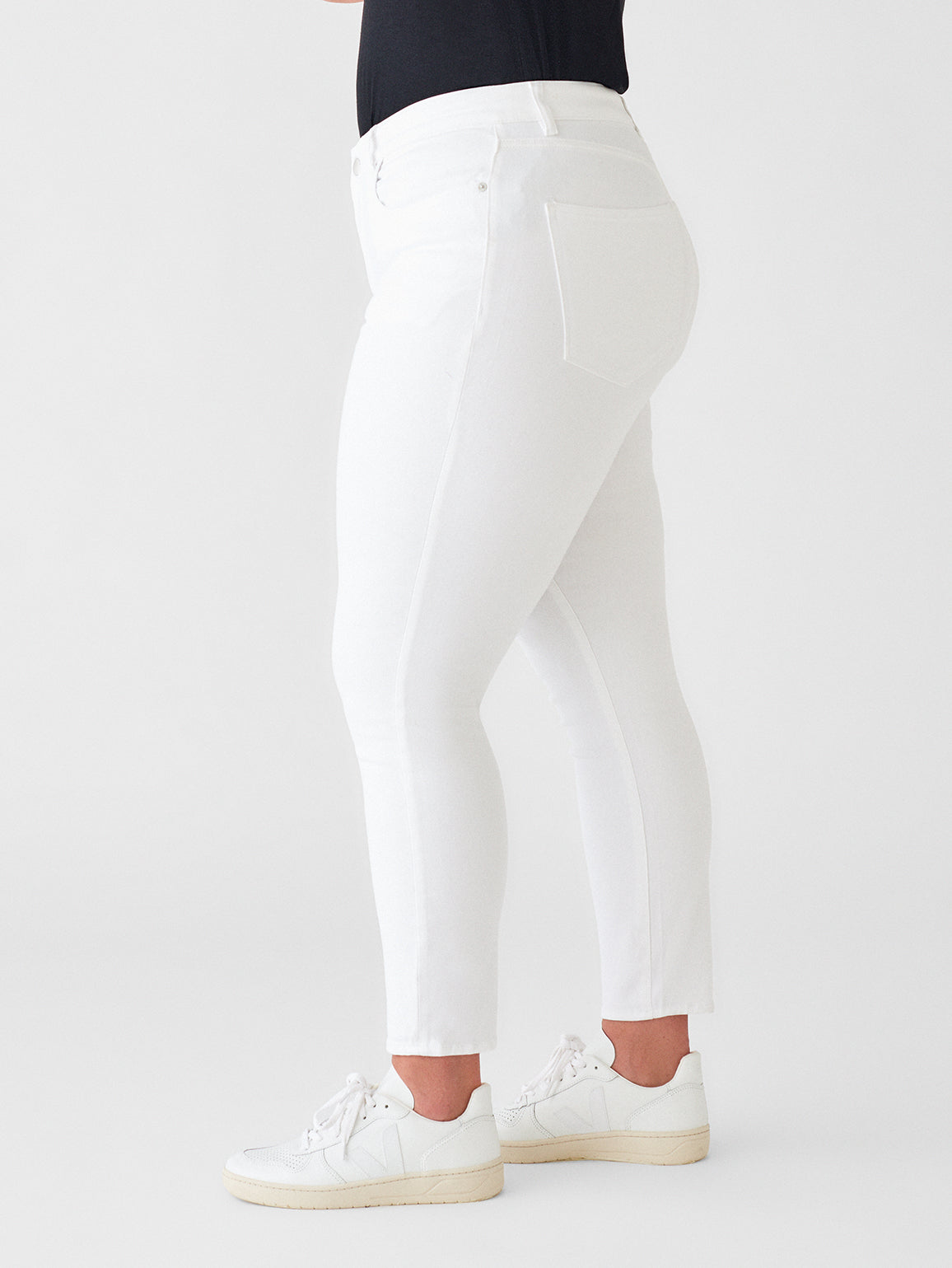 Farrow Ankle Mid Rise Skinny Inclusive | Porcelain