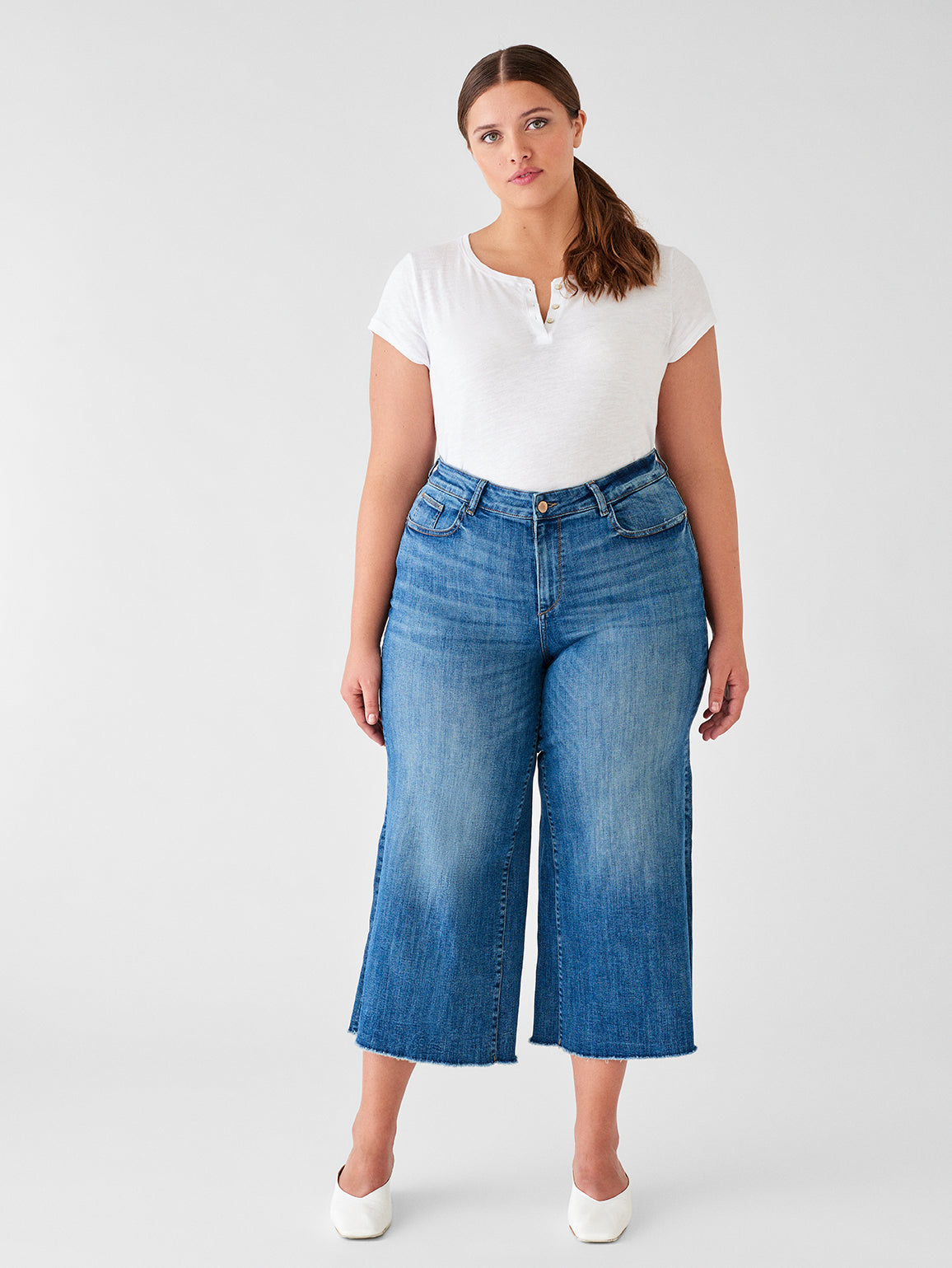 Hepburn High Rise Wide Leg Inclusive | Palmer