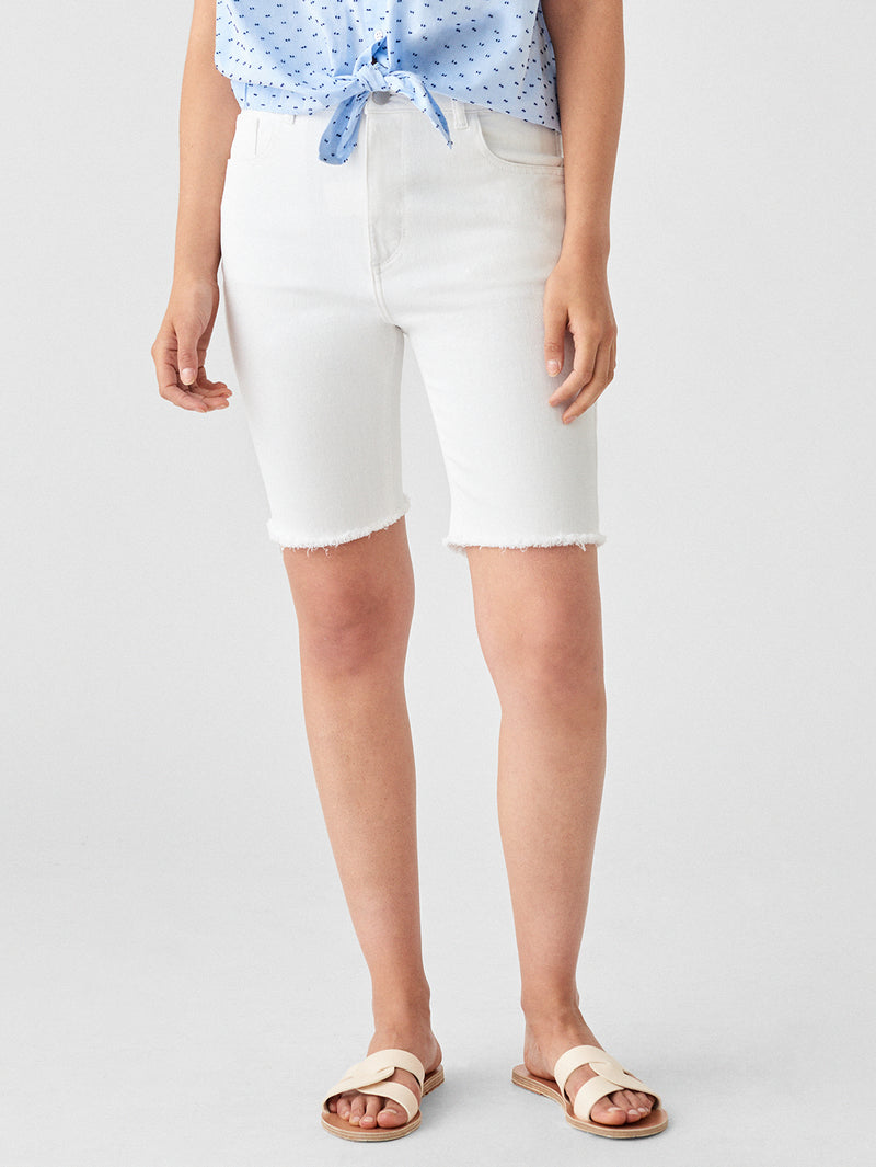 Hepburn High Rise Wide Leg Short | Marlowe
