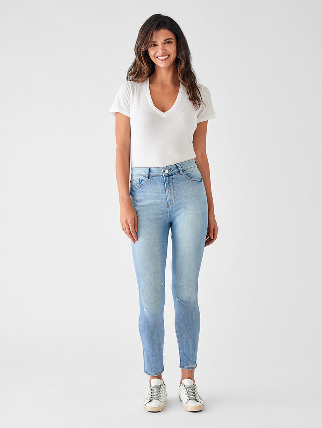 Farrow Crop High Rise Skinny | Sorrento
