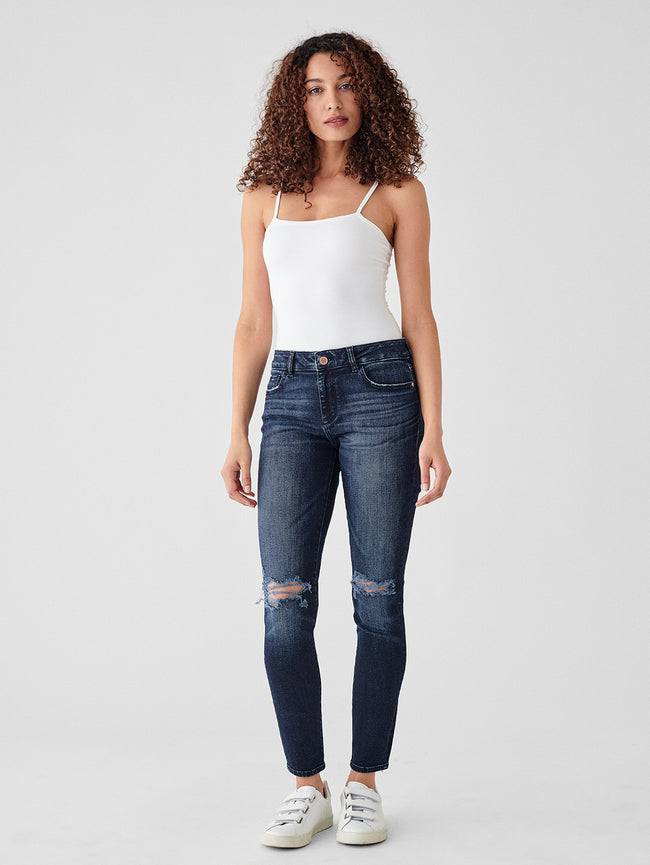Florence Ankle Mid Rise Skinny | Mitchell