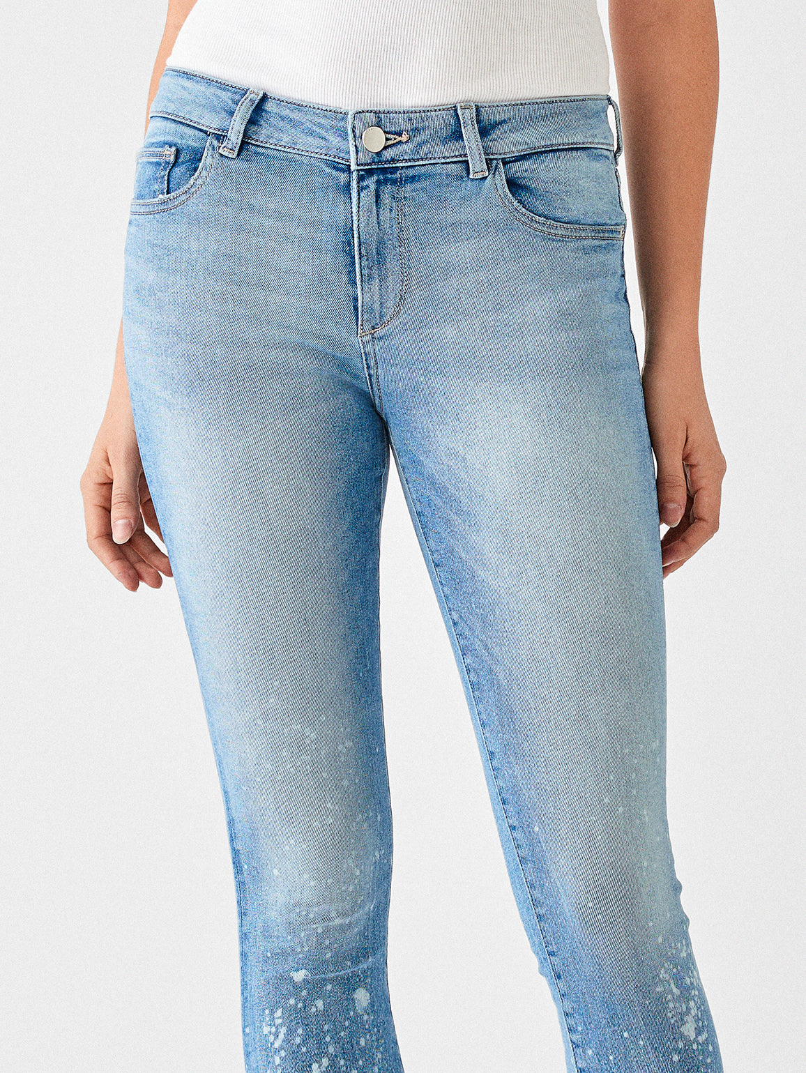 Florence Ankle Mid Rise Skinny | Venice