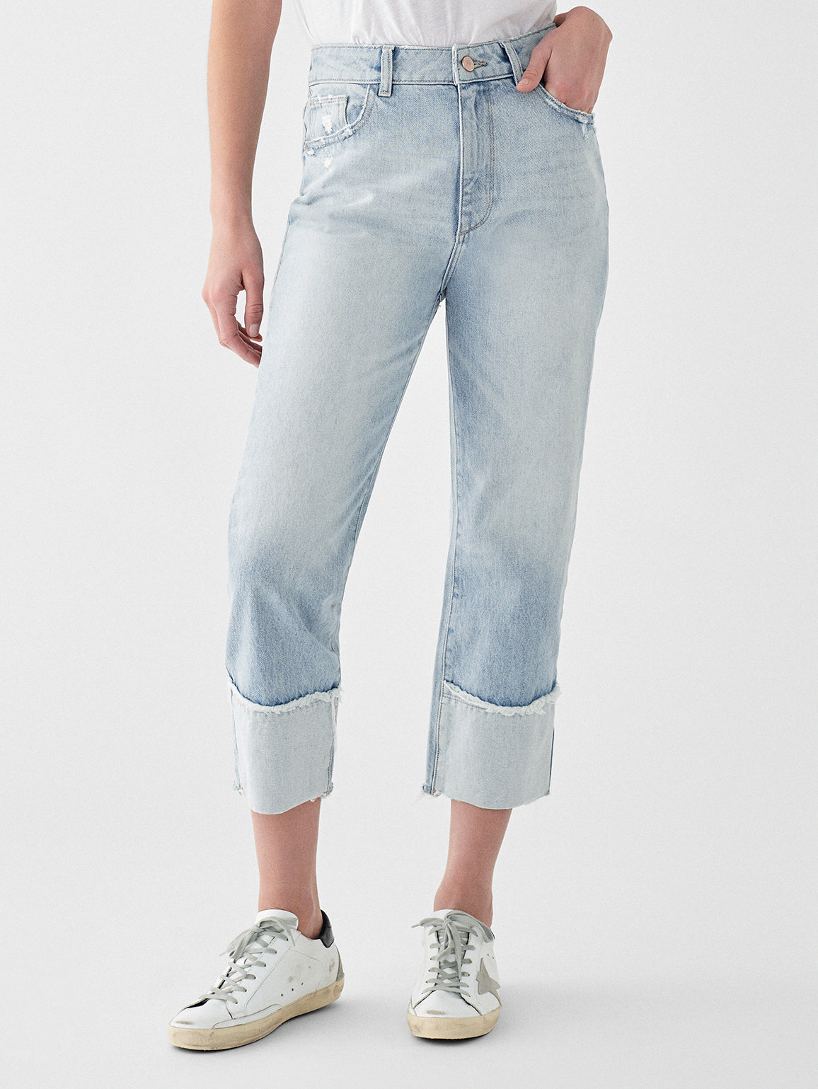Jerry Crop High Rise Vintage Straight | Baldwin