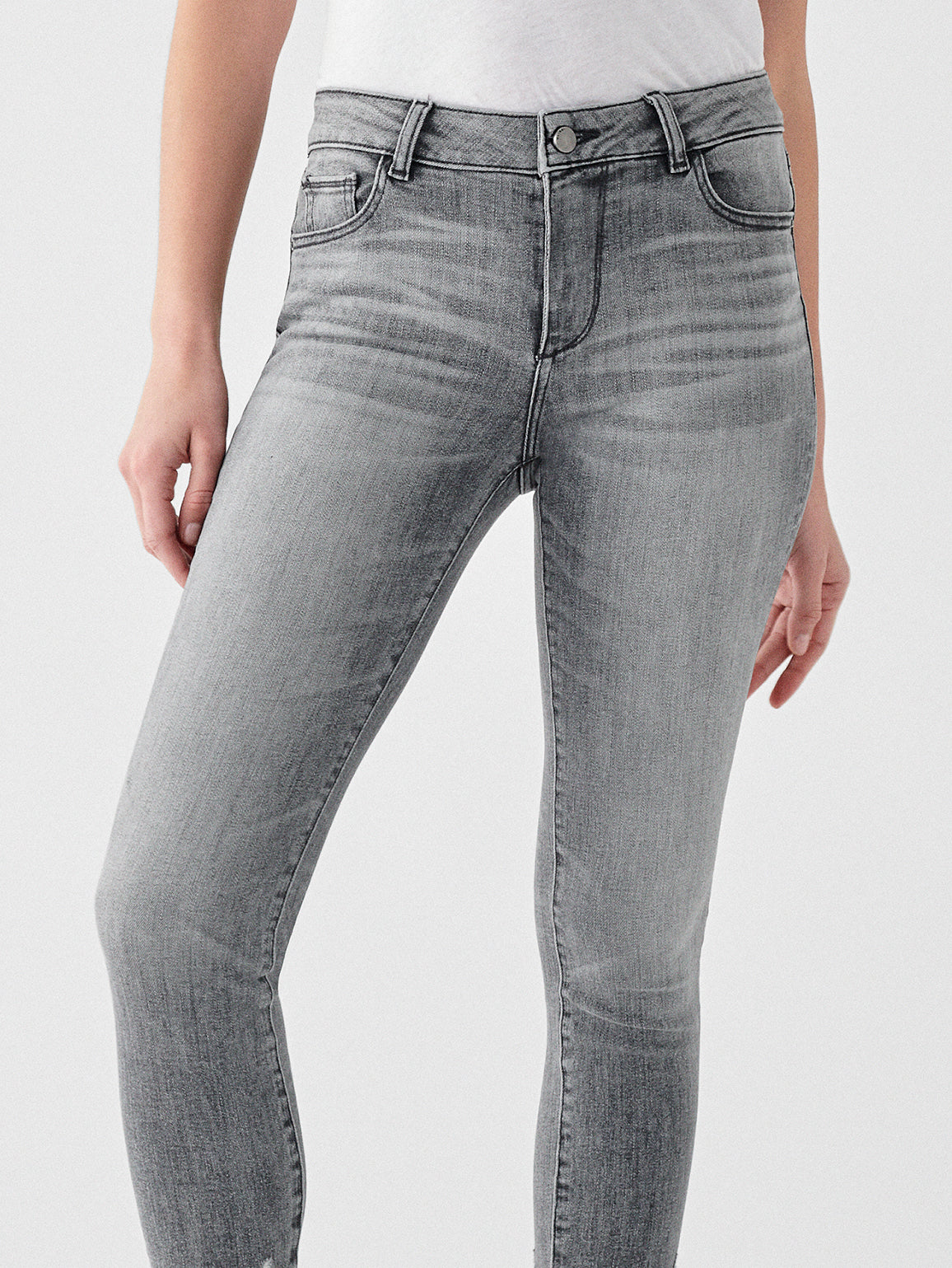 Florence Crop Mid Rise Skinny | Huntley