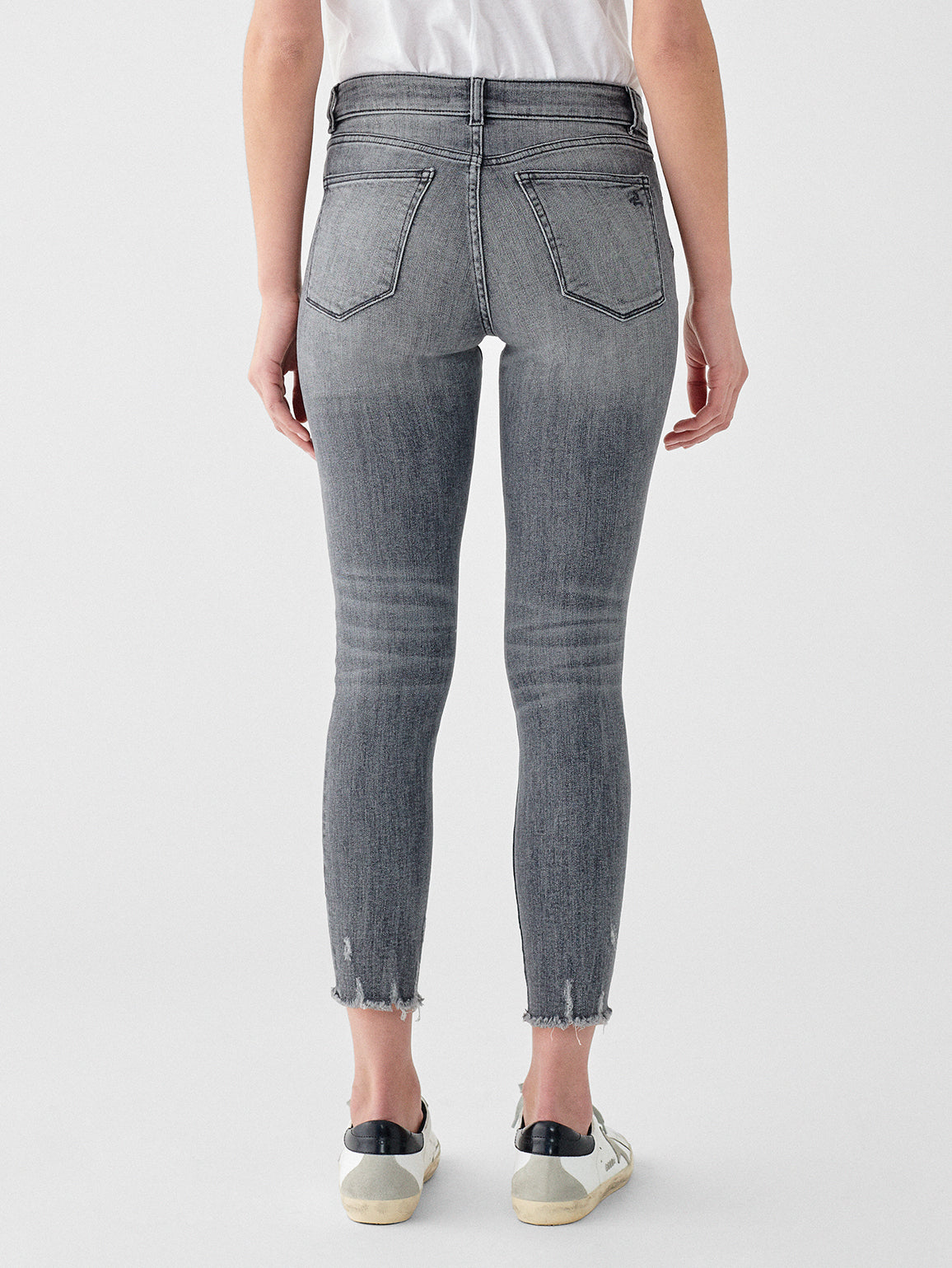 Florence Crop Mid Rise Instasculpt Skinny | Huntley