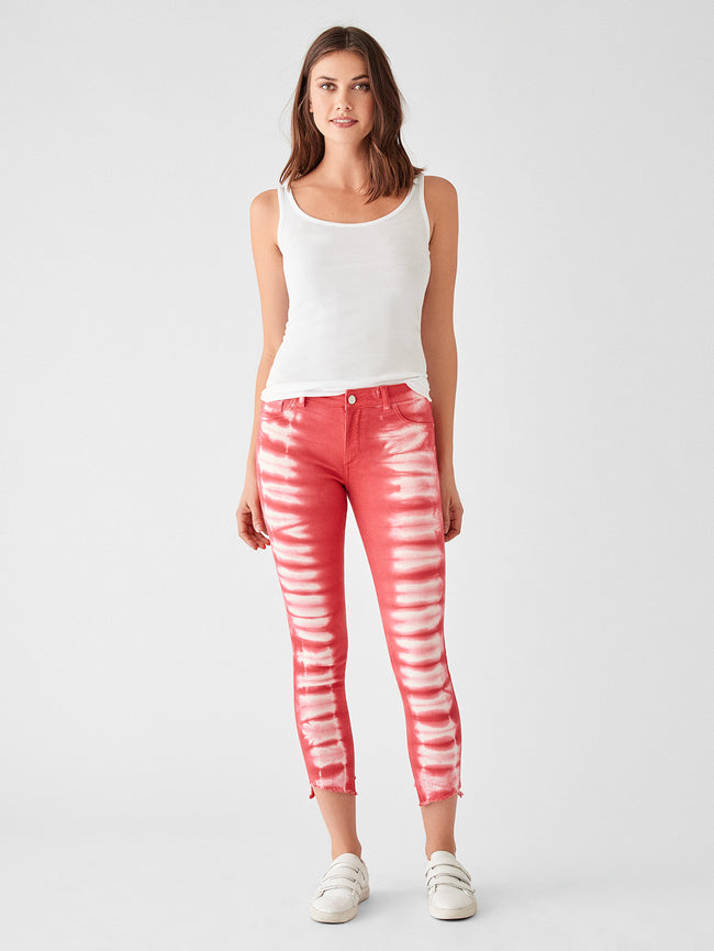 Florence Crop Mid Rise Skinny | Sunrise