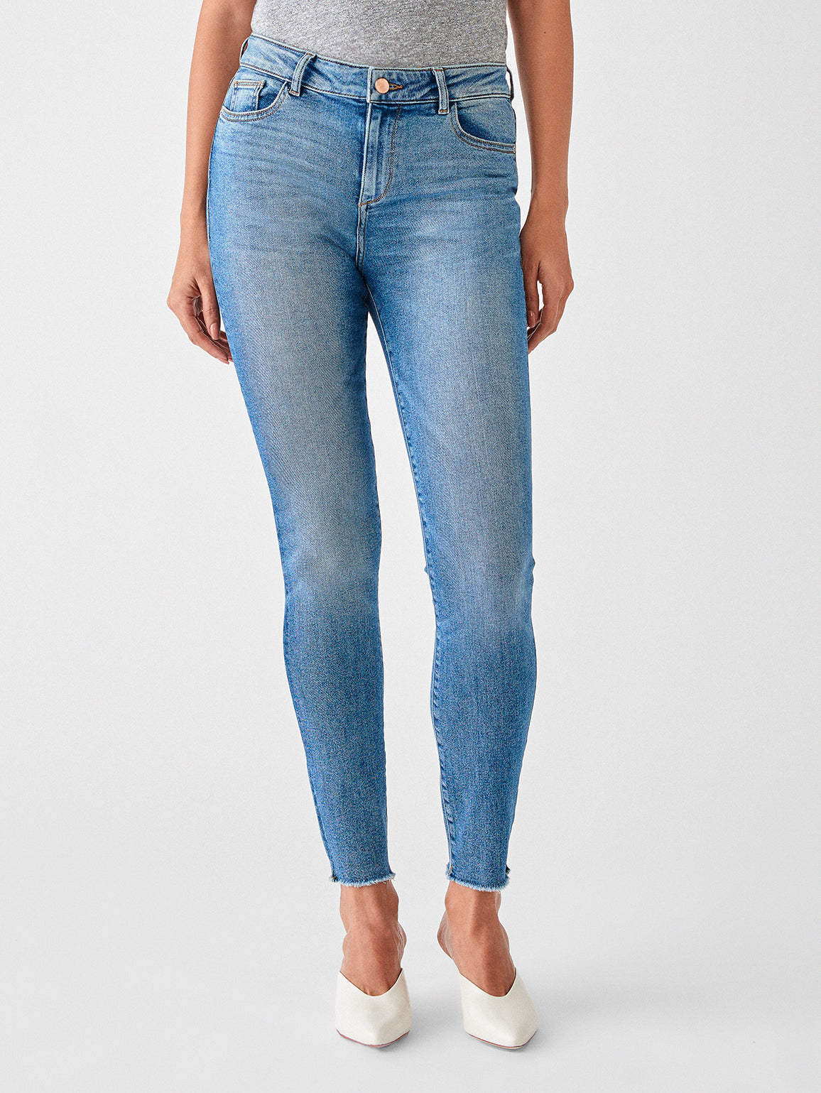 Florence Mid Rise Skinny | Rawlins