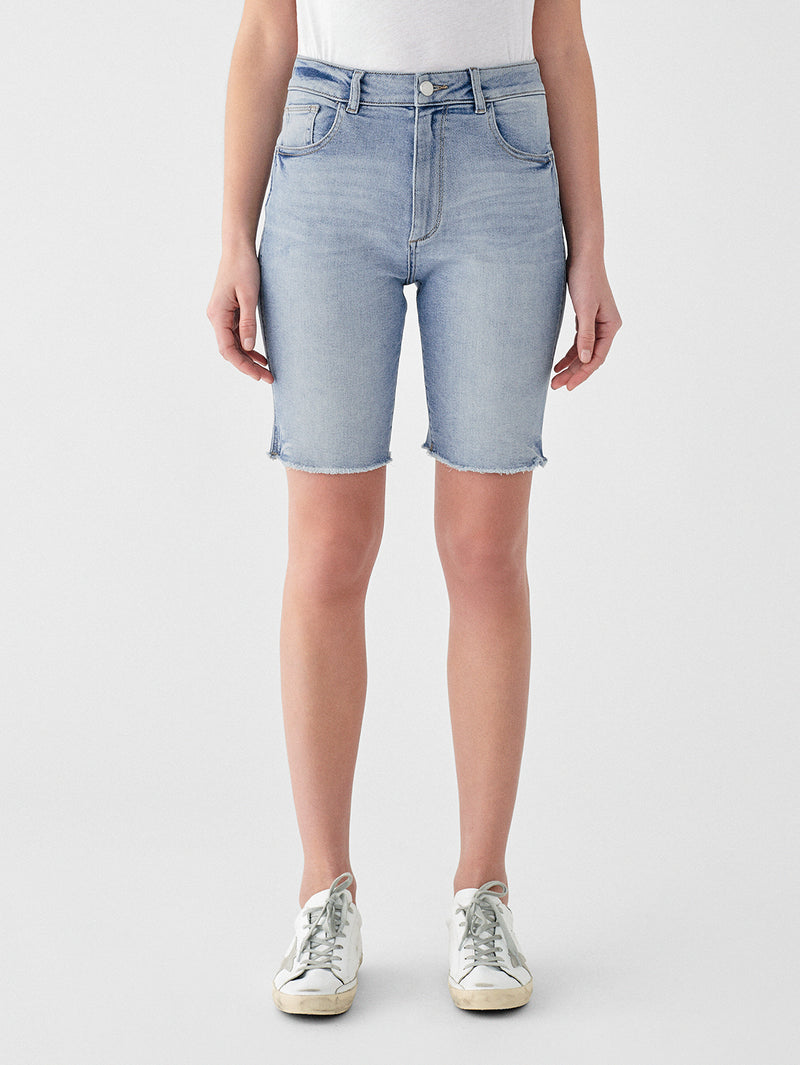 Cleo High Rise Short | Feather