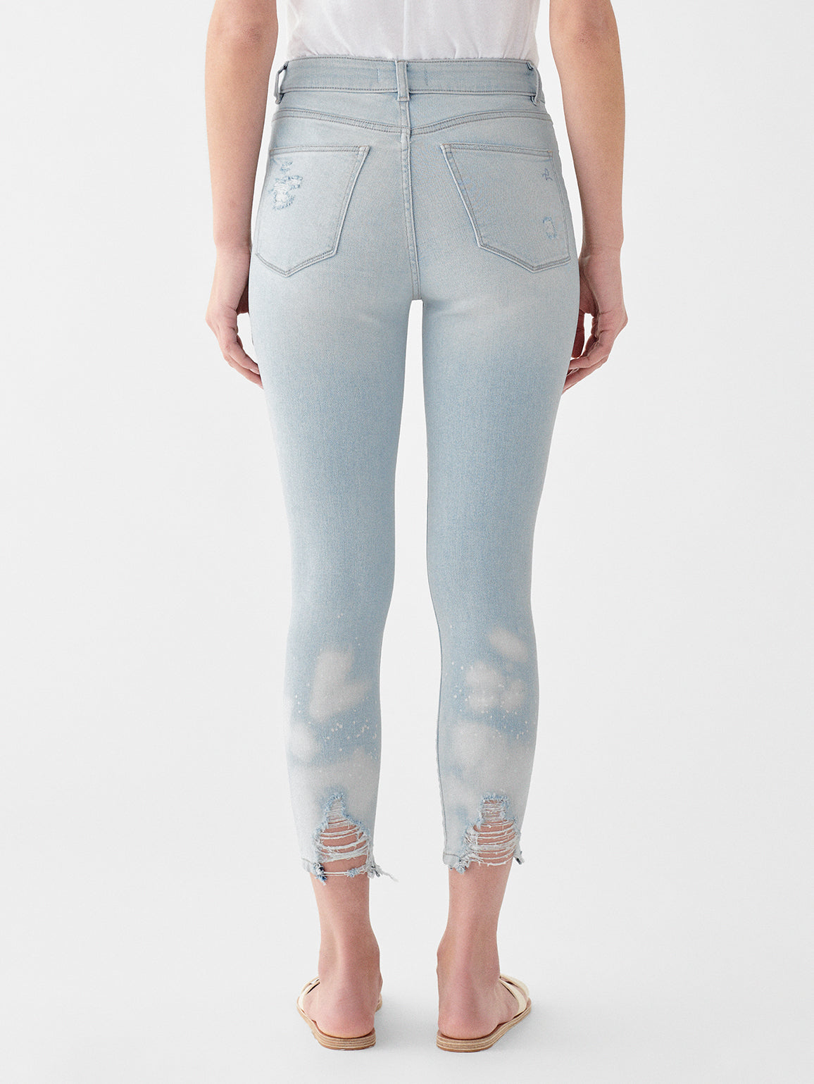 Farrow Crop High Rise Skinny | Goodwin
