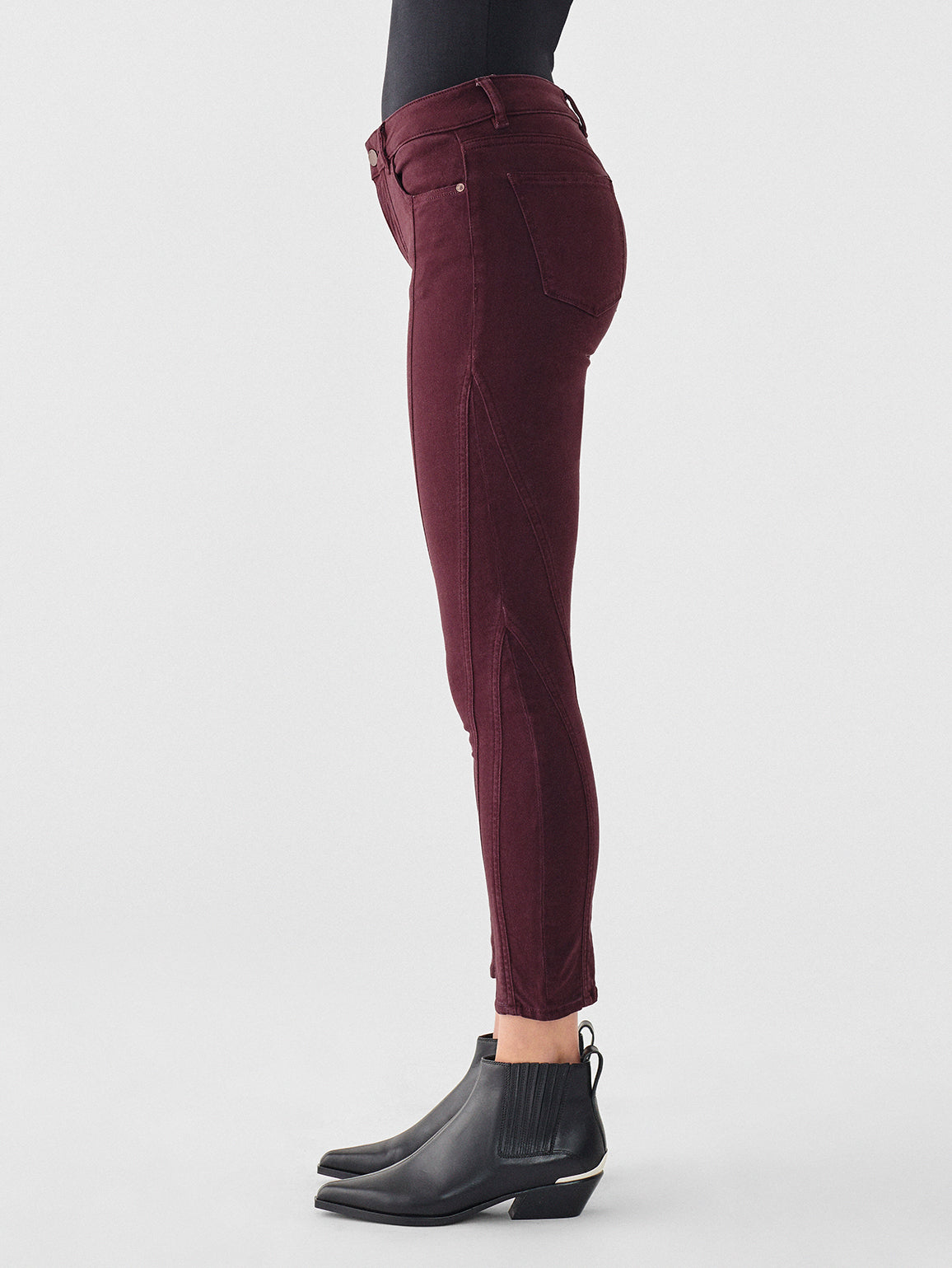 Florence Ankle Mid Rise Skinny | Lisbon