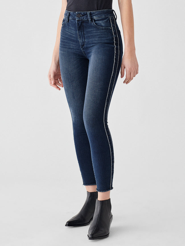 Farrow Ankle High Rise Instasculpt Skinny | Hassler