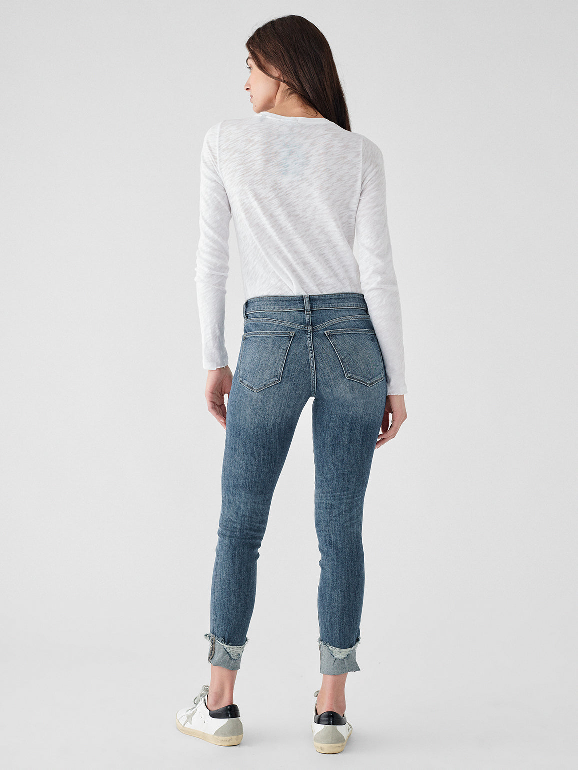 Florence Ankle Mid Rise Skinny | Moore