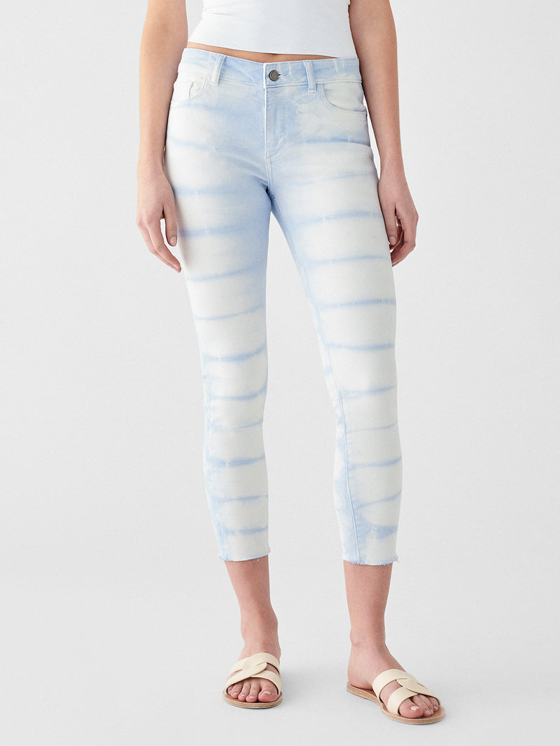 Farrow Ankle High Rise Skinny | Porcelain