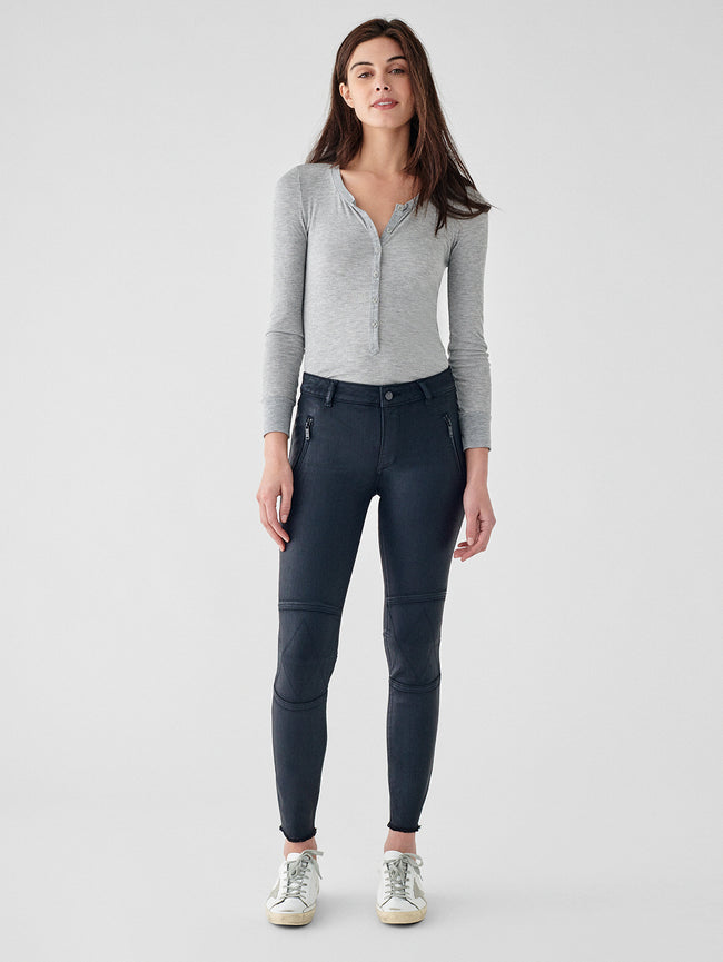 Florence Ankle Mid Rise Skinny | Bale