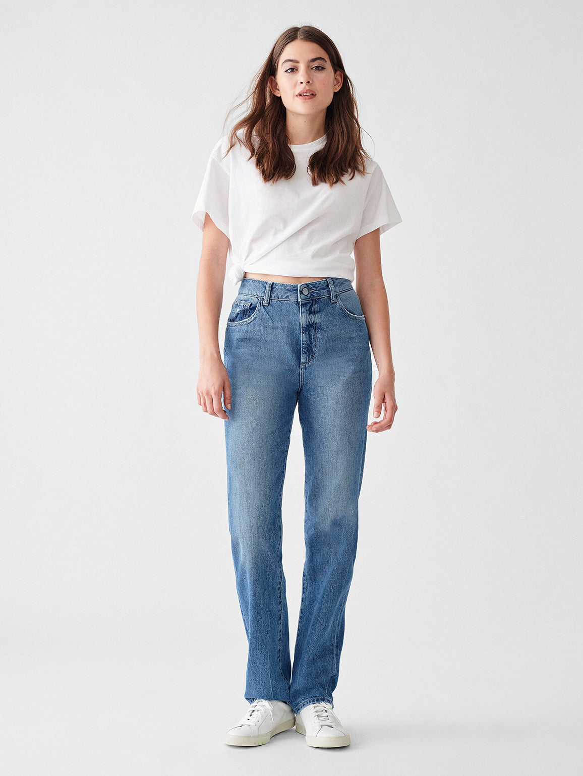 Jerry Full Length High Rise Vintage Straight | Keller