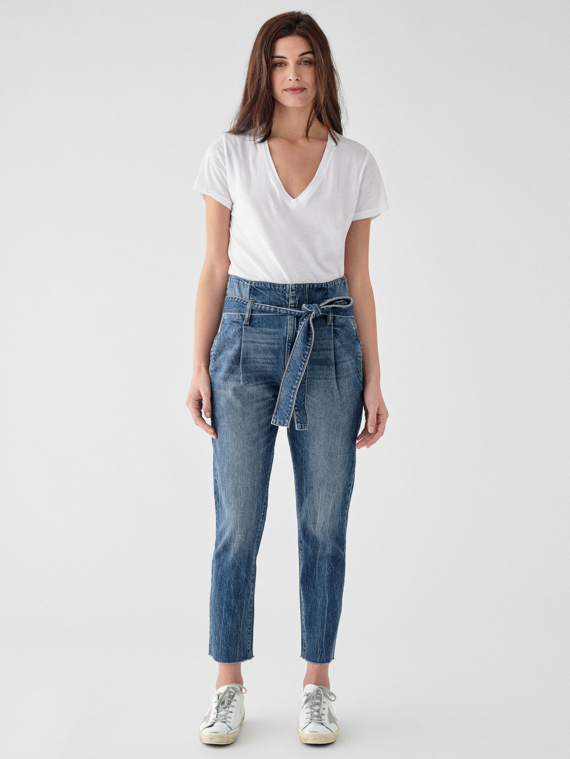 Susie High Rise Tapered Straight | Aberdeen