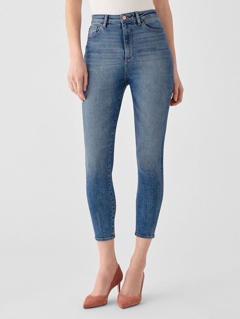 Chrissy Ultra High Rise Ankle Skinny | Hopper