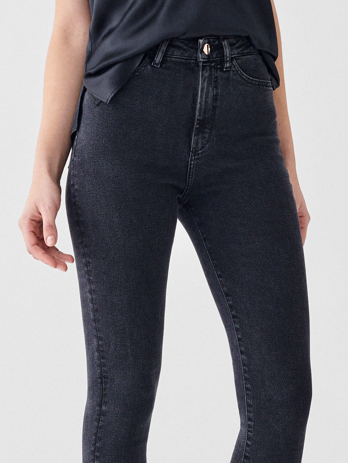 Chrissy Ultra High Rise Ankle Skinny | Camarillo