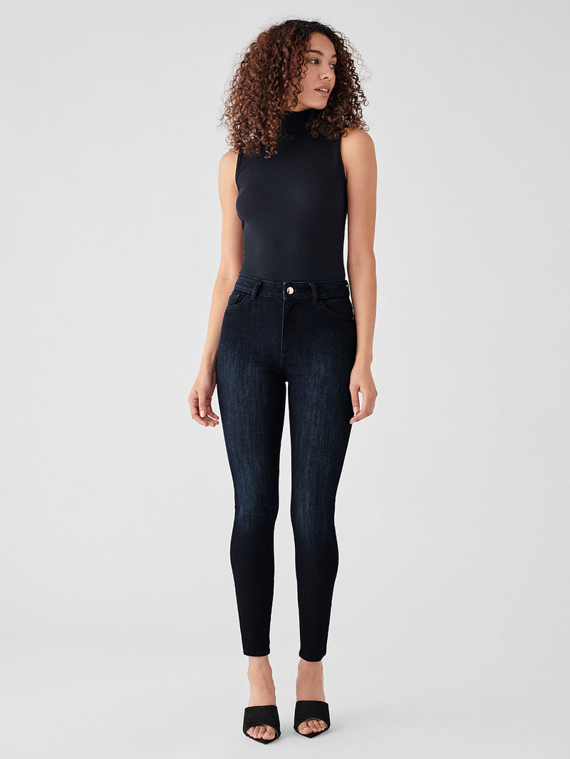 Farrow Ankle High Rise Skinny | Delancy