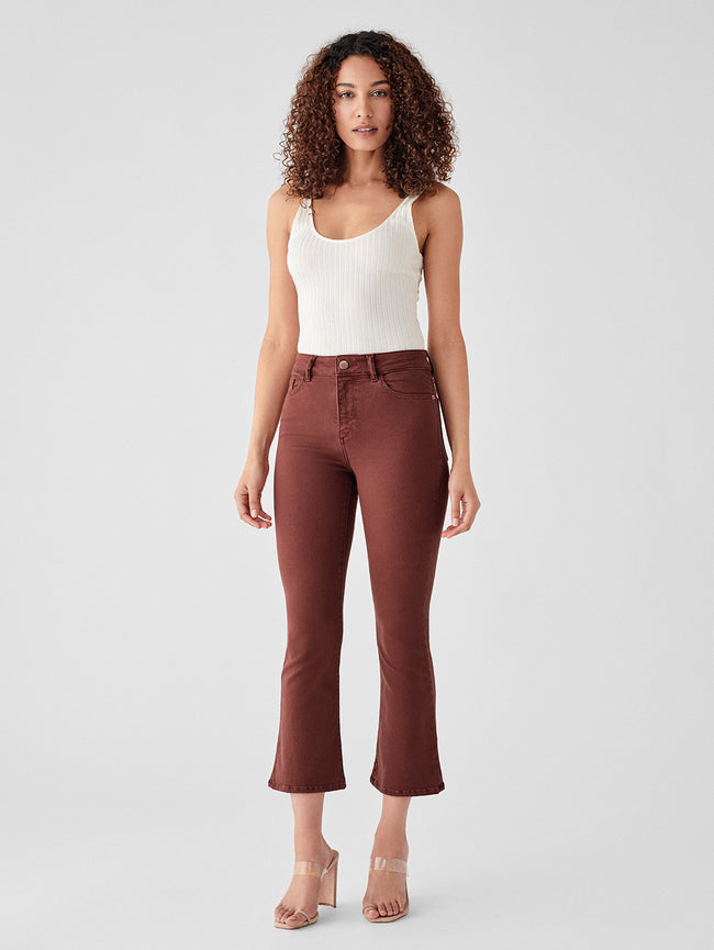 Bridget Crop High Rise Instasculpt Bootcut | Redwood