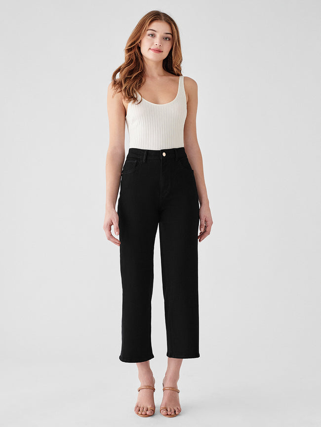 Hepburn High Rise Wide Leg | Stockton