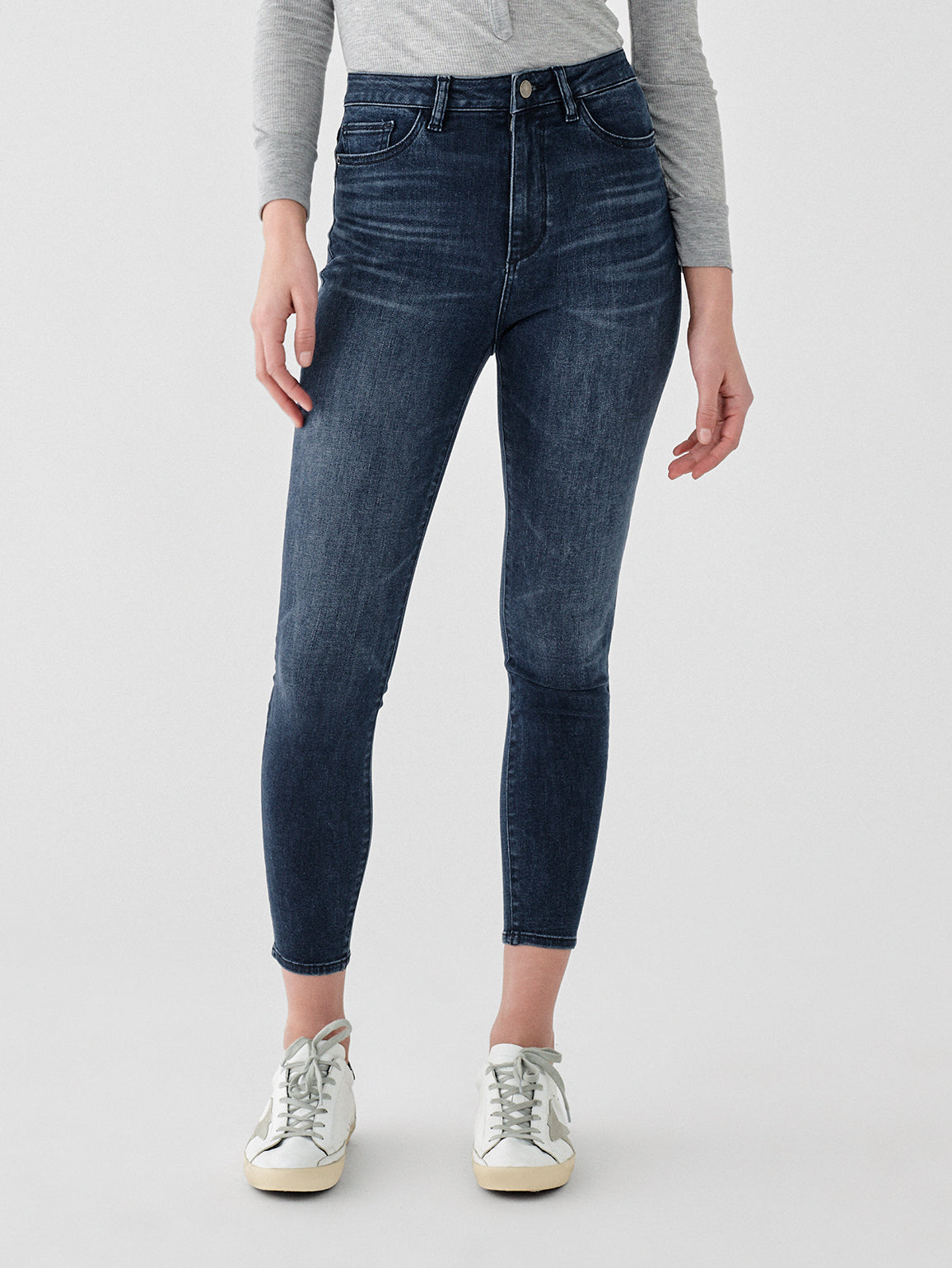 Chrissy Ultra High Rise Ankle Skinny | Tulsa