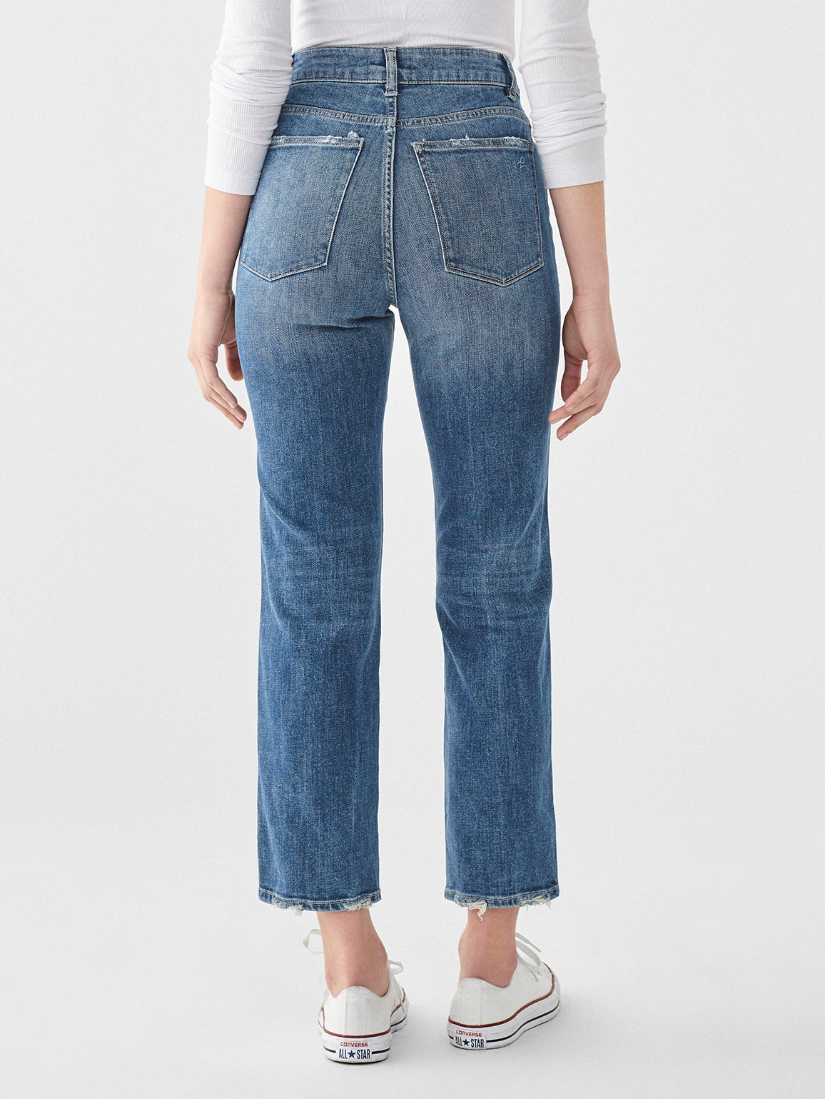 Jerry High Rise Vintage Straight | Linden