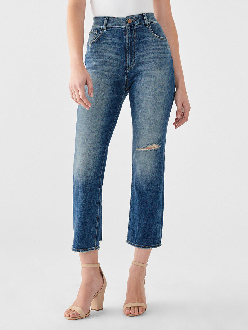 Jerry High Rise Vintage Straight | Springdale