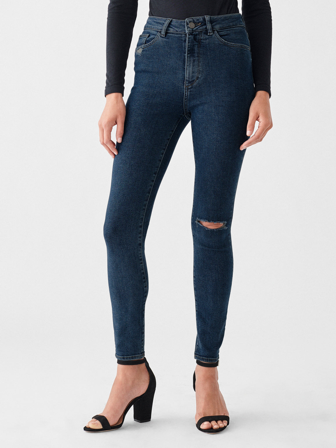 Farrow Ankle High Rise Skinny | Gresham