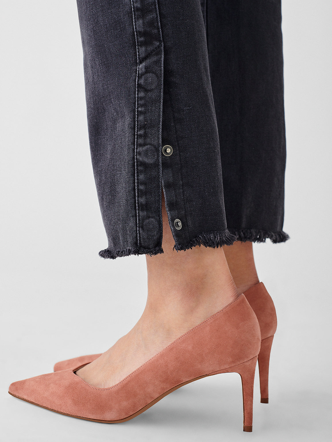 Mara Ankle High Rise Straight | Bouverie