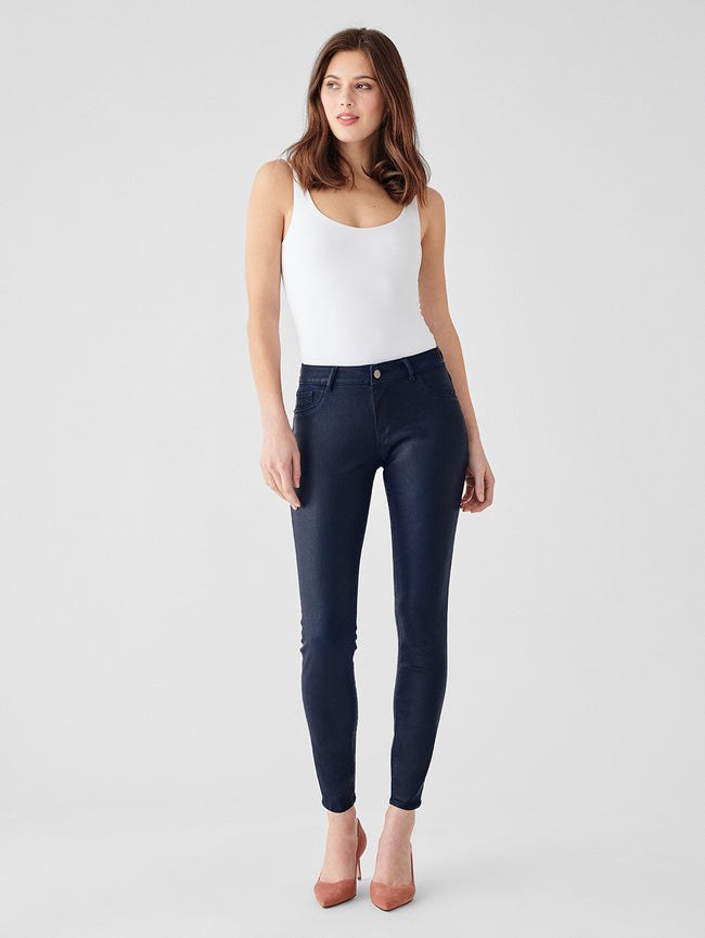 Emma Low Rise Instasculpt Skinny | Sapphire