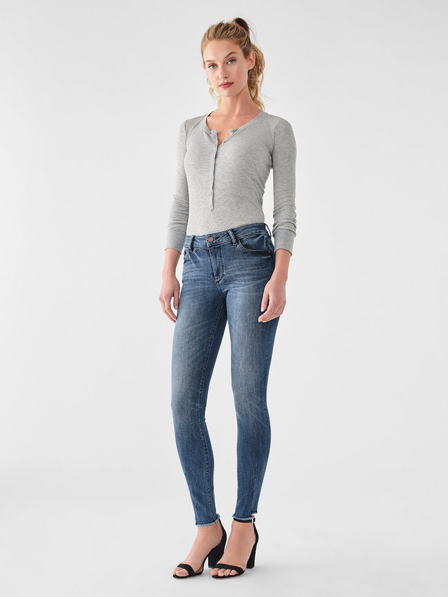 Florence Mid Rise Skinny | Barbon