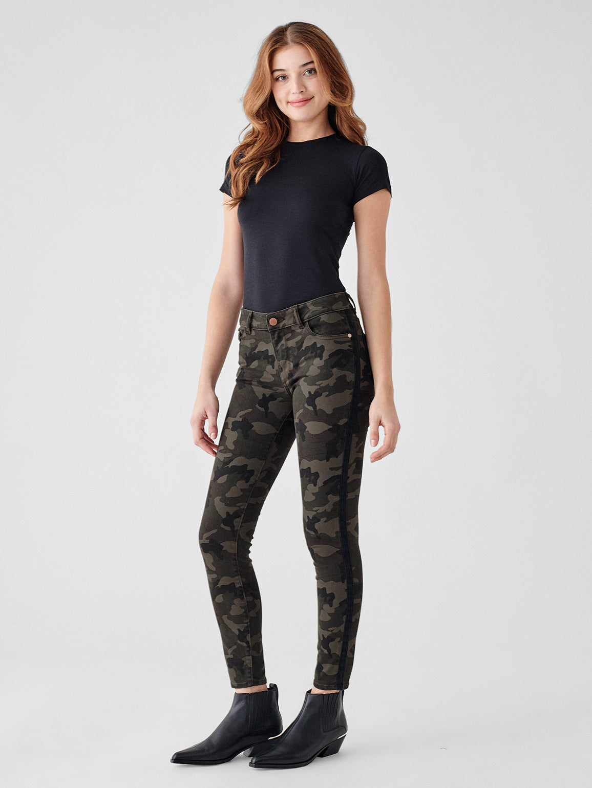 Florence Ankle Mid Rise Skinny | Fort Greene