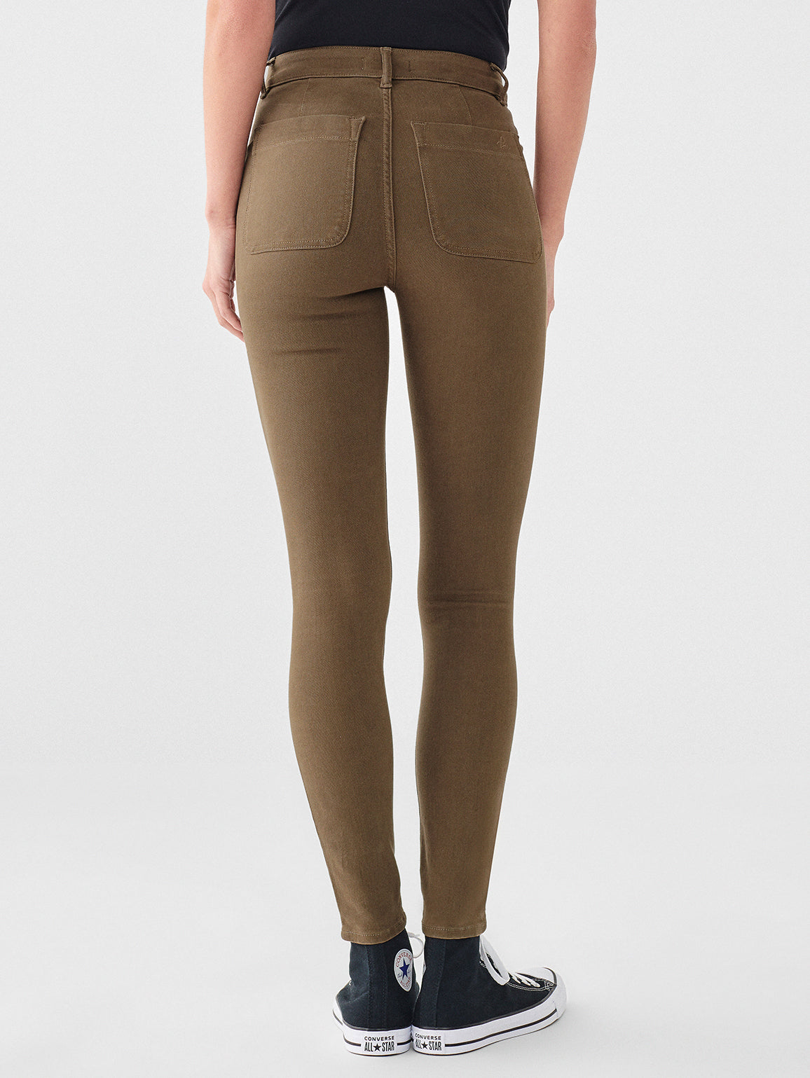 Farrow Ankle High Rise Skinny | Basil
