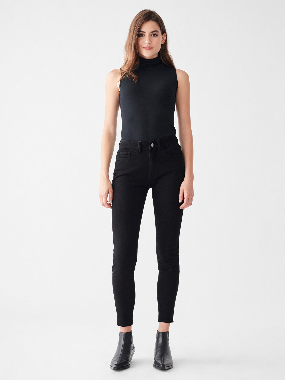 Florence Ankle Mid Rise Skinny | Hopper