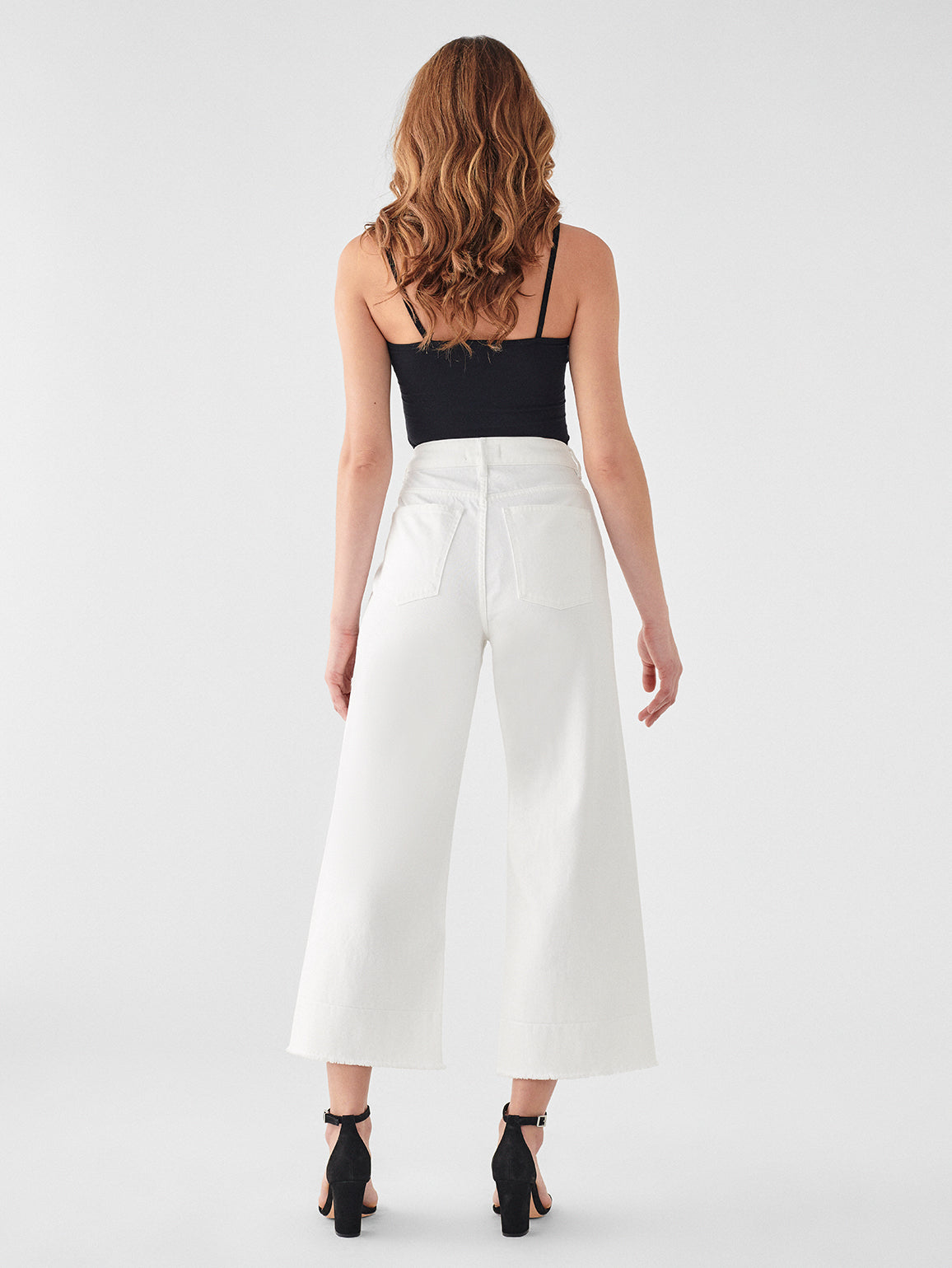 Hepburn High Rise Wide Leg | Tallic