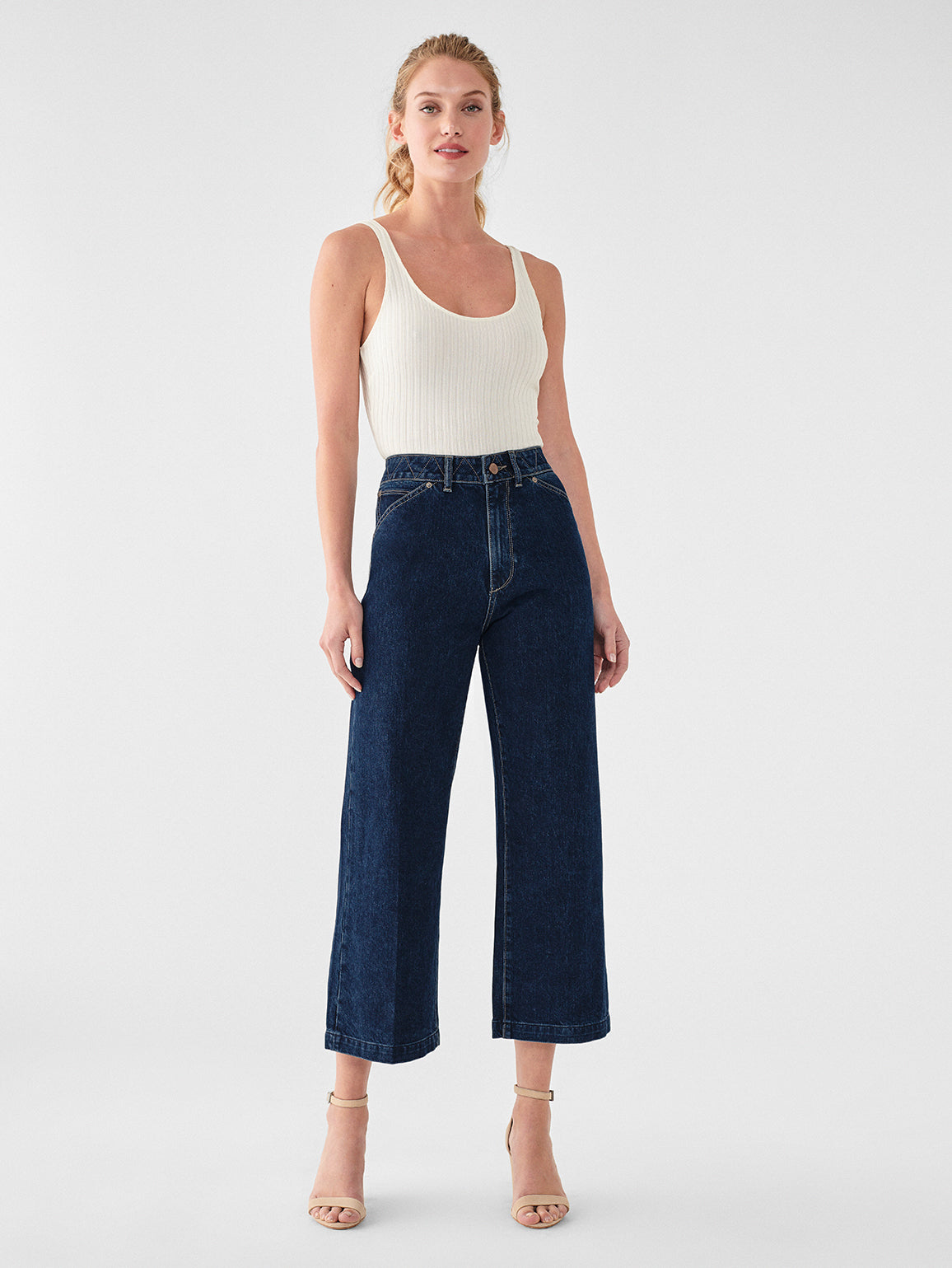 Hepburn High Rise Wide Leg | Flatland