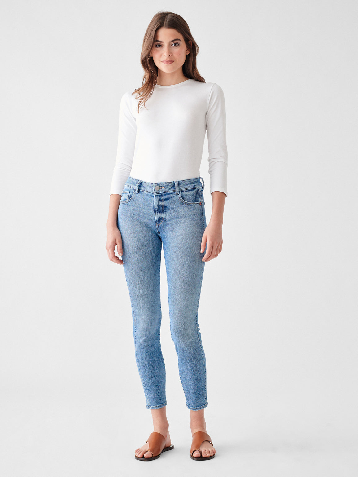 Florence Ankle Mid Rise Skinny | Edison