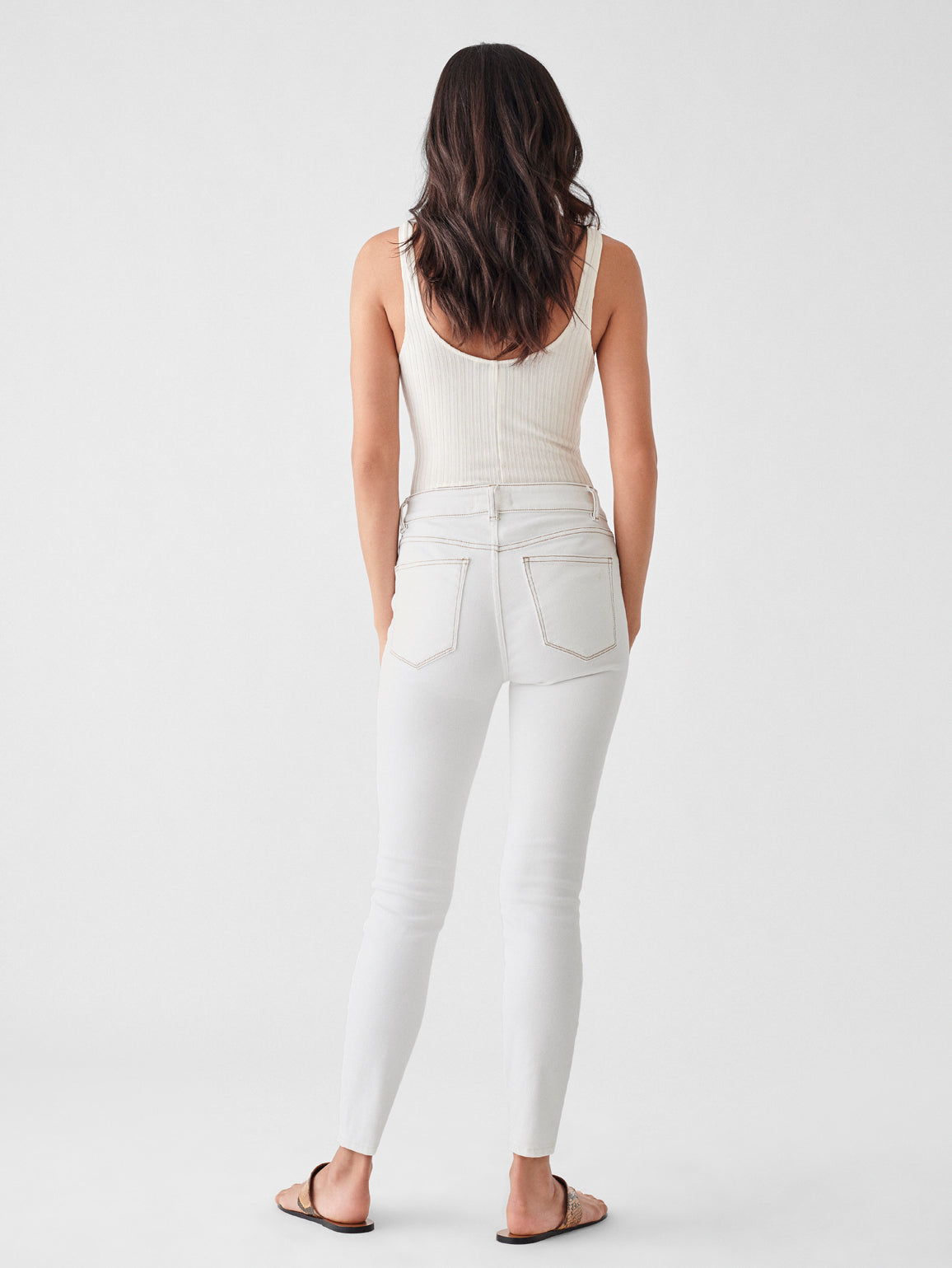 Florence Crop Mid Rise Skinny | Provo