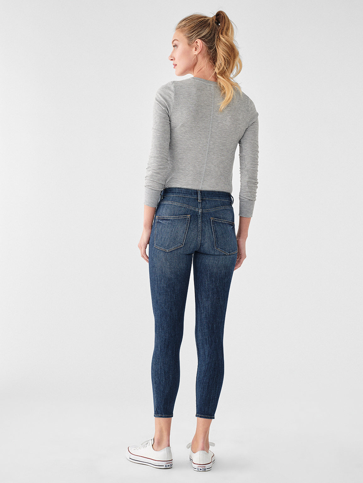 Florence Crop Mid Rise Skinny | Trenton