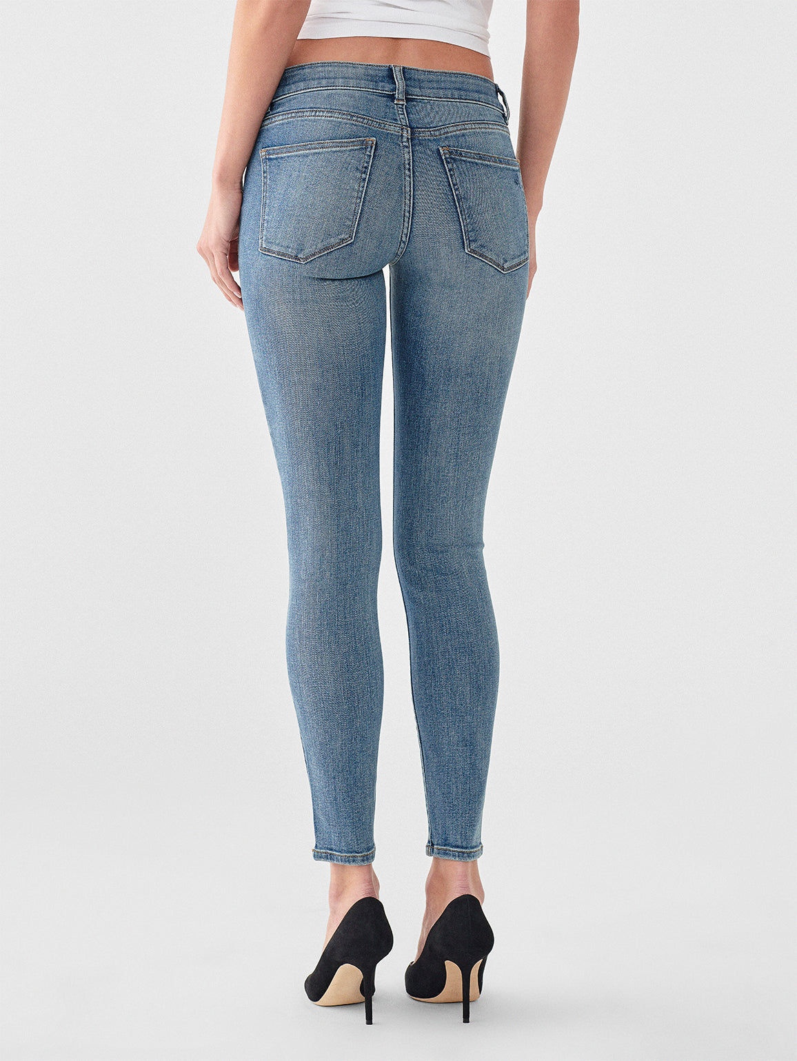Emma Low Rise Skinny | Goodyear