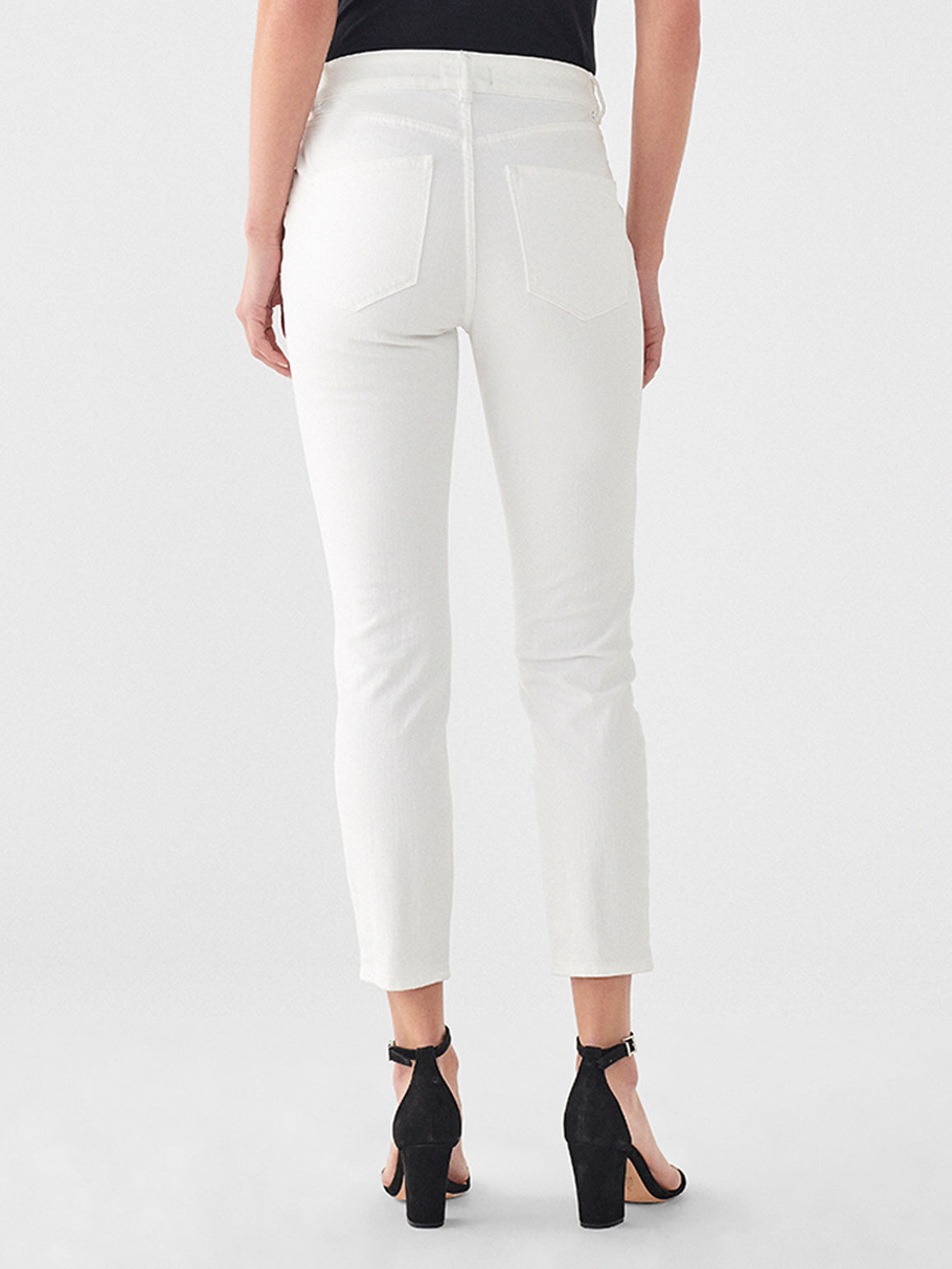 Farrow Crop Vintage High Rise Skinny | Bennington