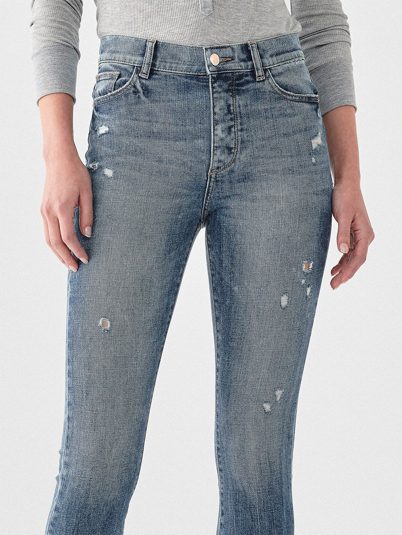 Farrow Crop Vintage High Rise Skinny | Tacoma