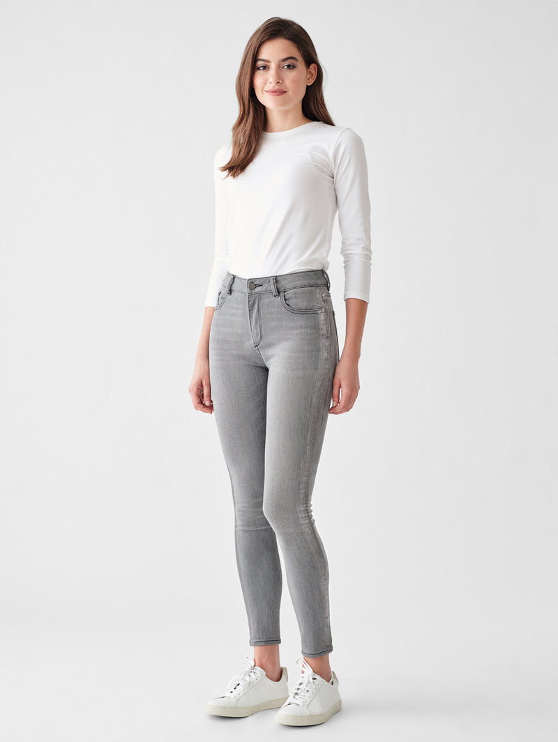 Florence Ankle Mid Rise Skinny | Amsterdam