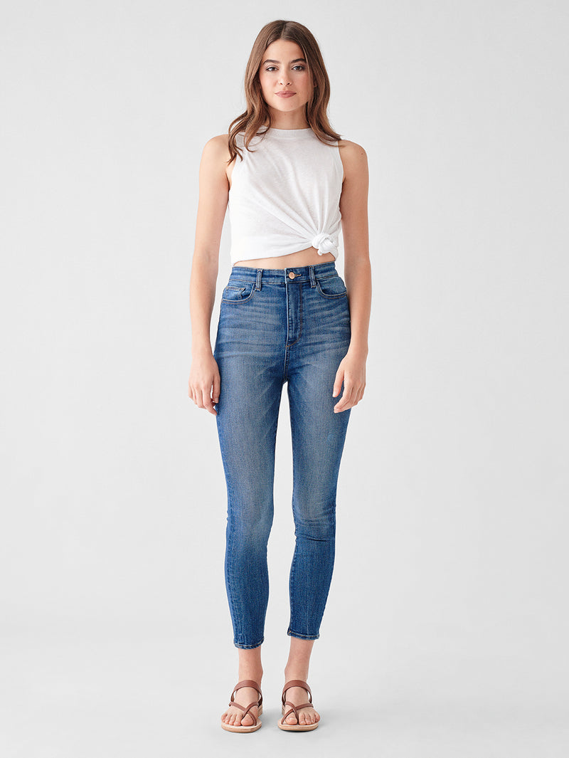 Chrissy Crop Ultra High Rise Skinny | Huron